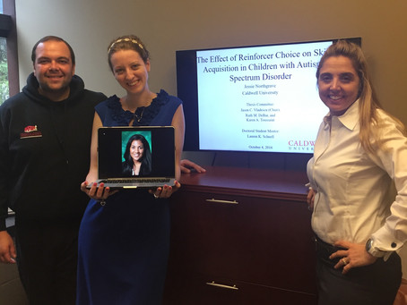 Congrats to Jessie for defending her thesis!