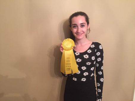 Congrats Rachel!