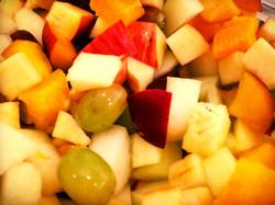 frischer Obstsalat...