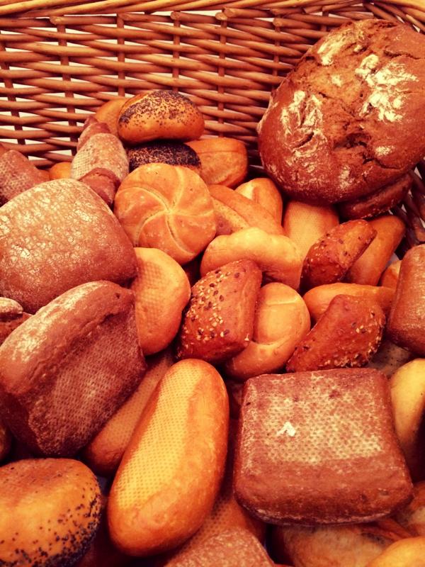 frisch gebackenes Brot...