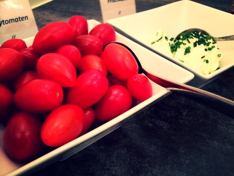 Tomate & Frischkäse...