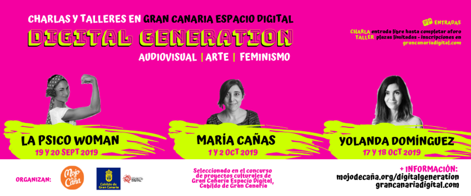 feminismno arte audiovisal gran canaria digital generation