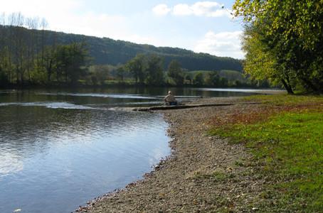 Voluntariado en Francia – La orilla del río Dordogne