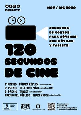 cartel concurso de cortos para jóvenes c
