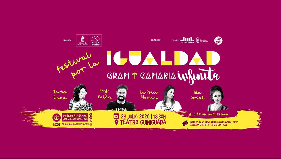 Festival por la Igualdad Gran Canaria Infinita