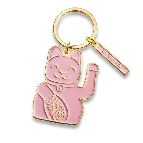 Llavero Fortune Cat Rosa