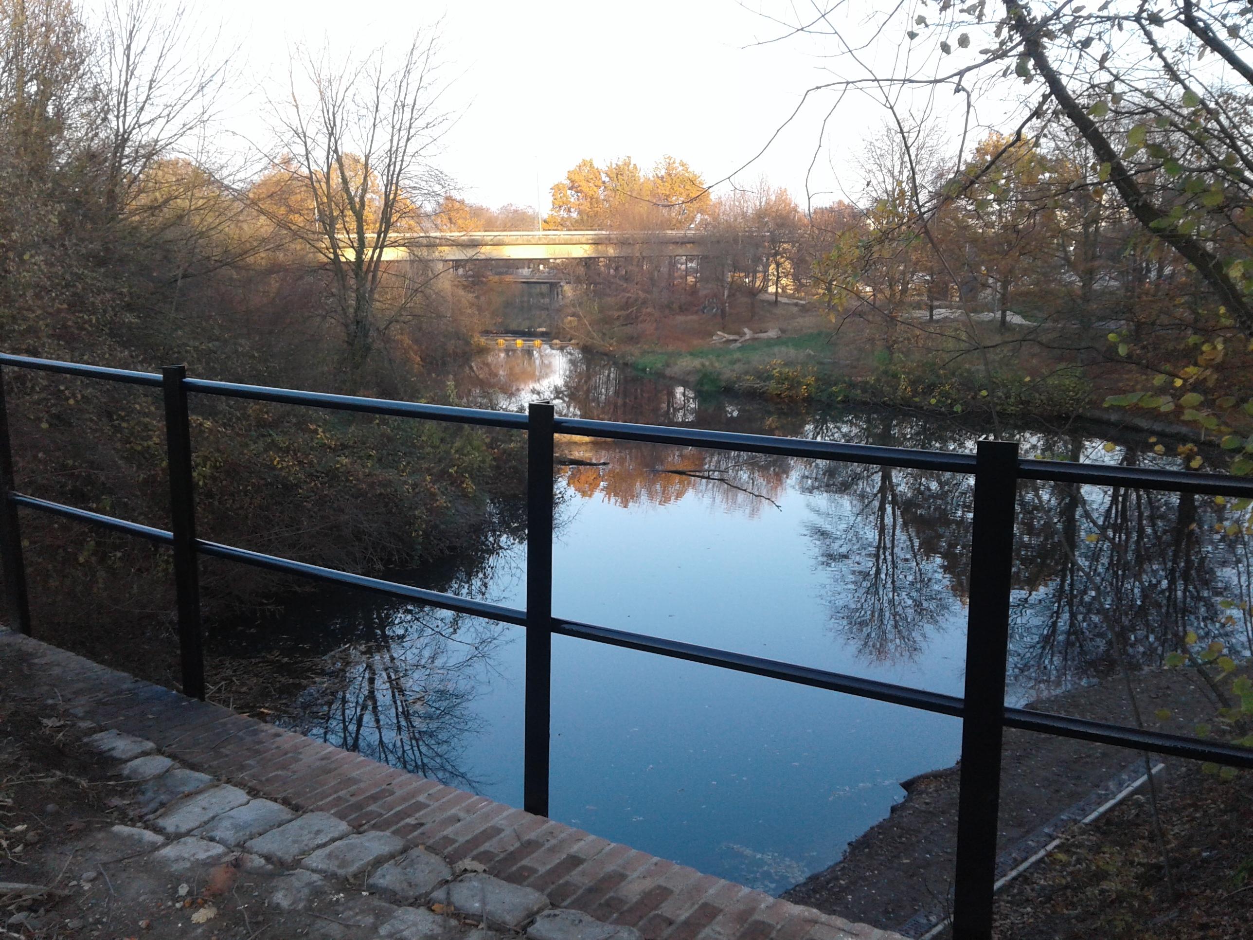 Spoorwegbrug Lage Fronten Maastricht