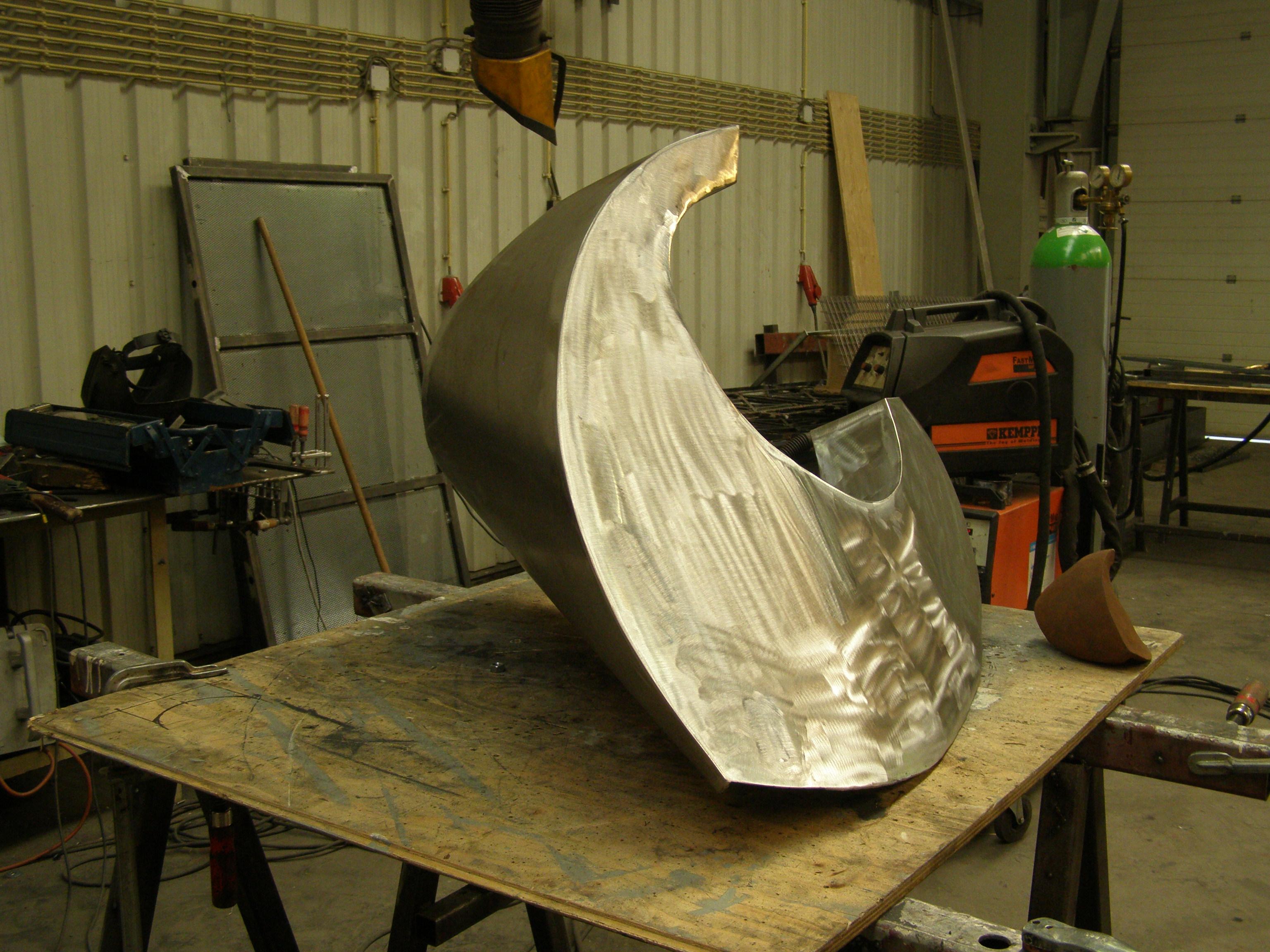 Sculptuur Katie van der Zande