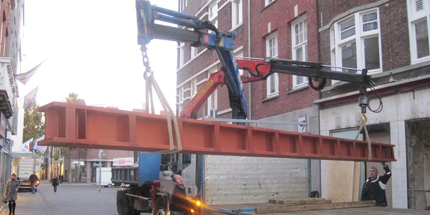 Eyzerhardt stalen balk constructiebouw