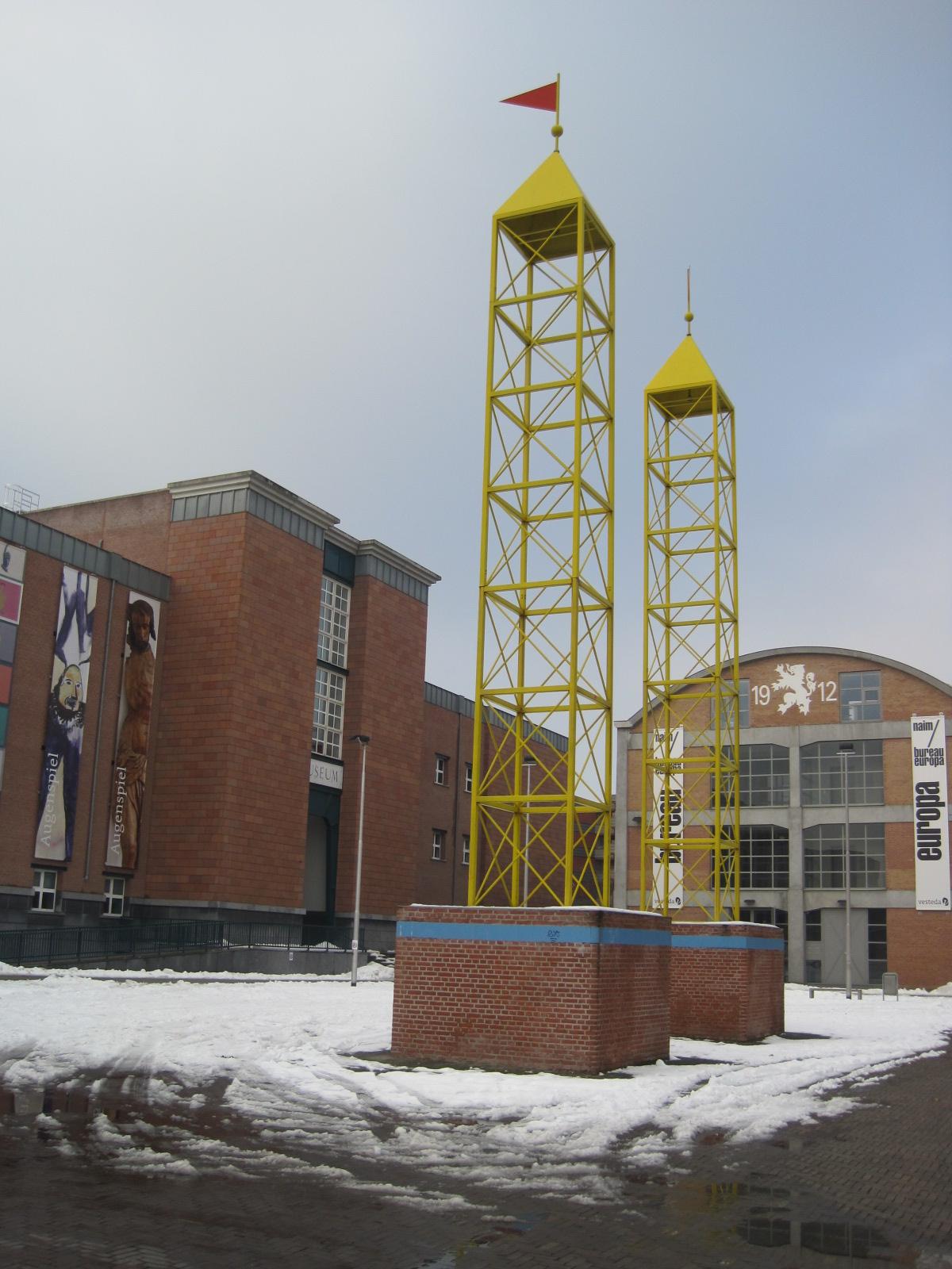 Torens Bonnefantenplein Maastricht