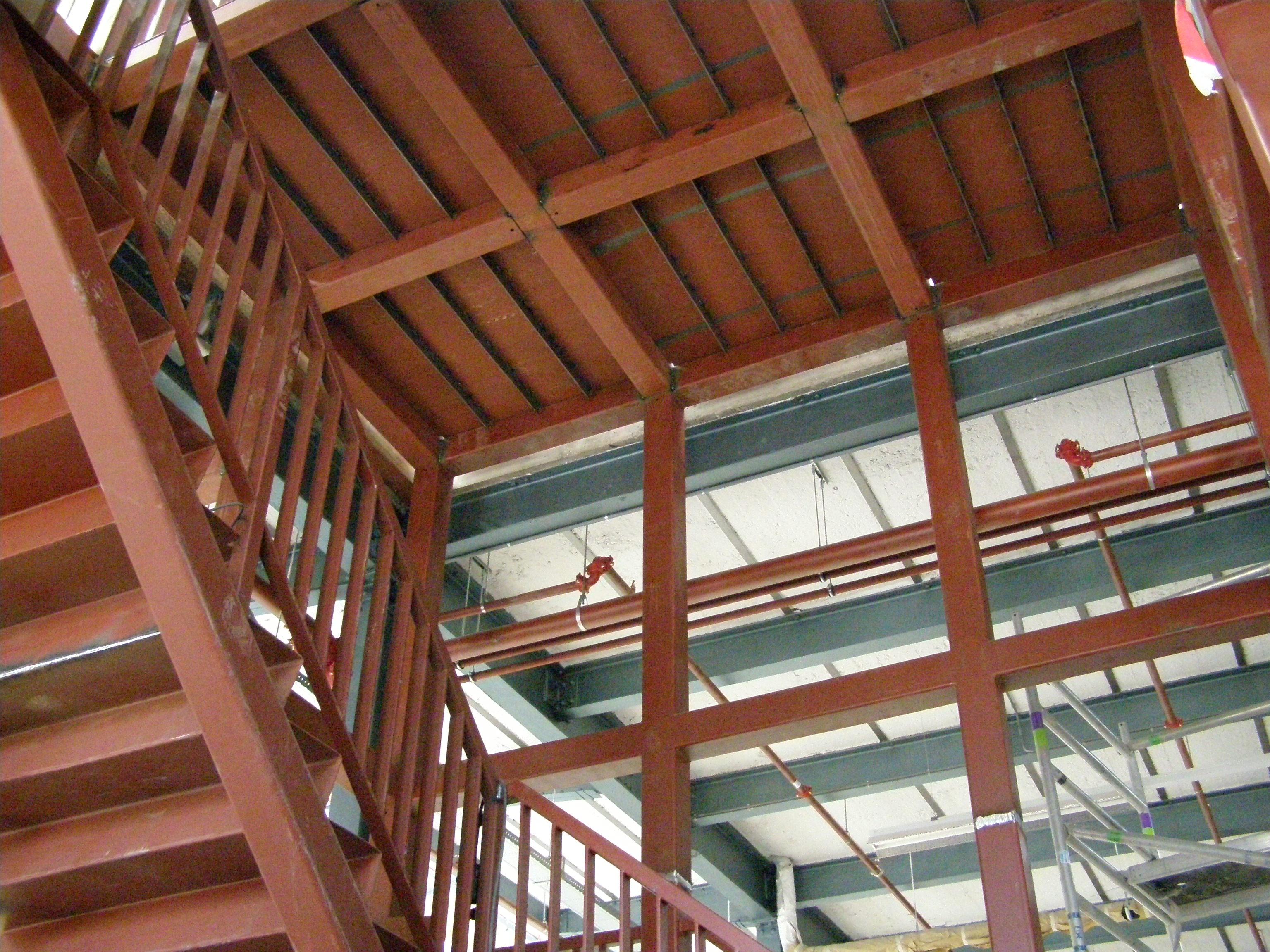Trappenhuis timmerfabriek Maastricht
