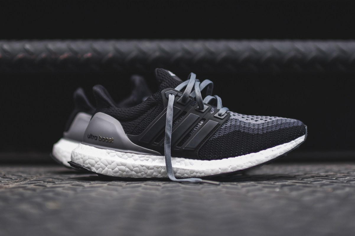Adidas Boost Black Grey
