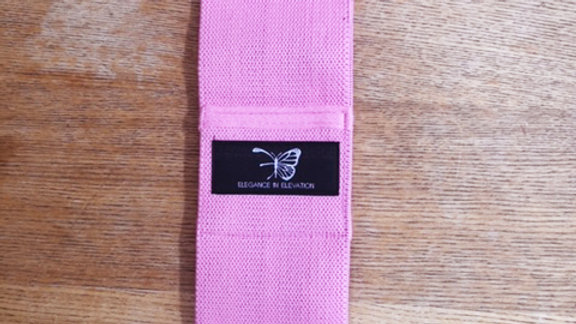 E in E Pink-Medium Resistance Band