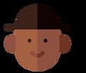 homme pictogramm chapeau