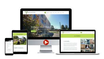 Site web de la Résidence Saint-Hubert Bièvre