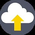 Cloud dessin flèche jaune
