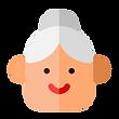 femme pitogramme âgée