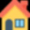 Pictogramme maison vidéo immobilière