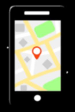 Smartphone noir image vectorielle