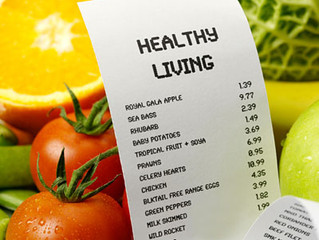 Healthy Eating Vs Money Eating?