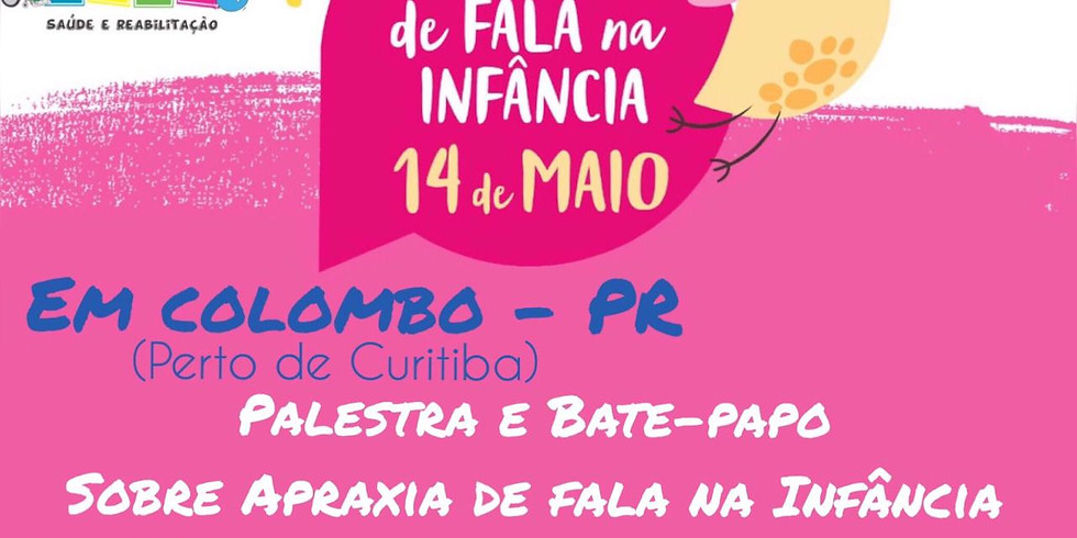PALESTRA E BATE PAPO - APRAXIA DE FALA