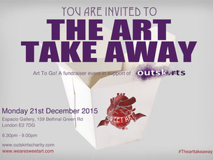 The Art Take Away - Our First Fundraiser Hosted by Sweet 'Art