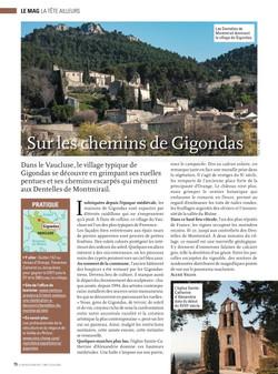 LFA 23-04-21 Sur les chemins de Gigondas