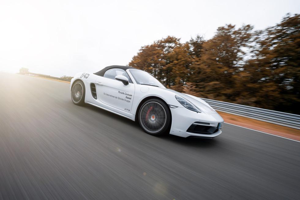 Fotoshooting für das Porsche Zentrum in Kassel und die Glinicke Motorsport