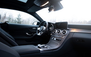 Interieur Mercedes C Coupe
