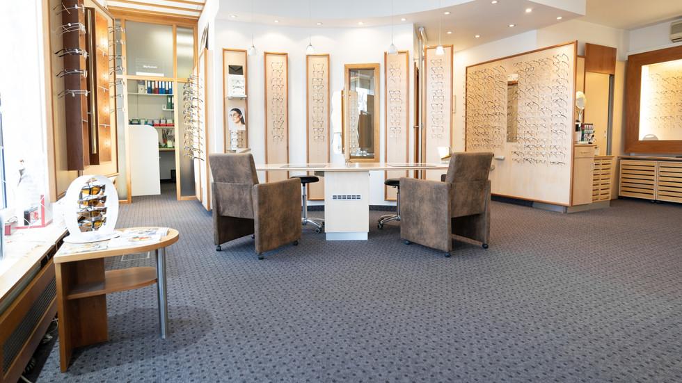 Räumlichkeiten der Die Optik GmbH