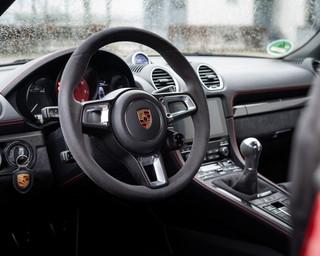 Detailaufnahme Porsche Boxter 718 GTS