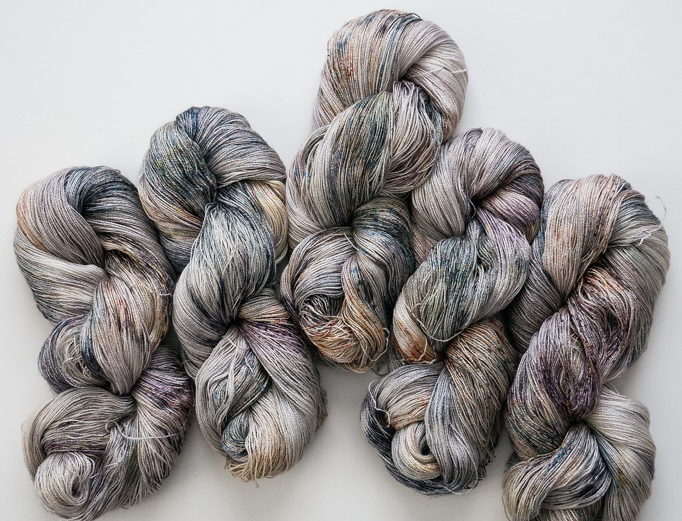 Semiprecious - BFL Silk/Lace