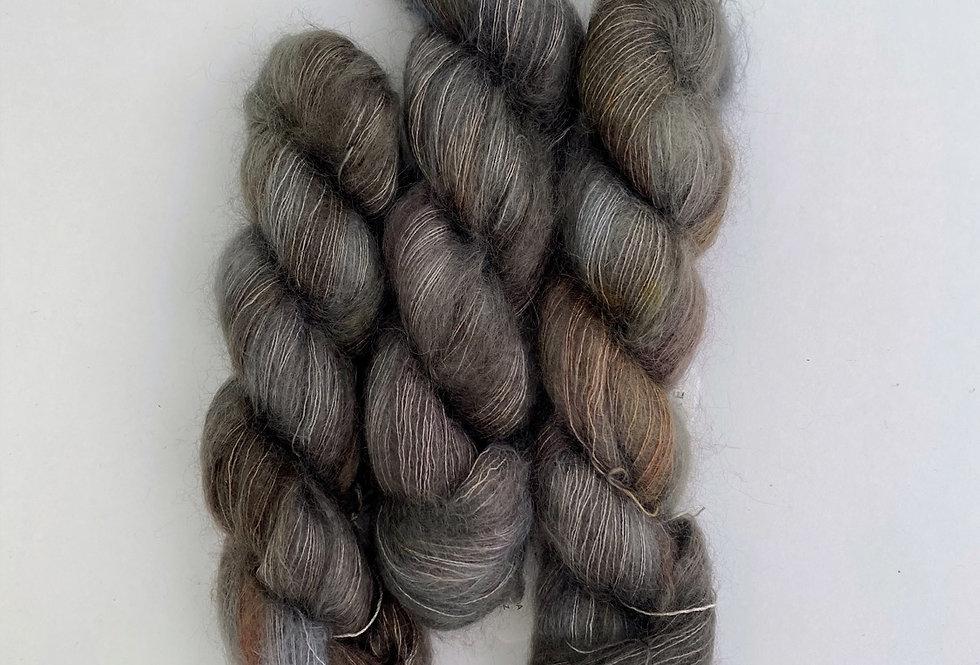 Heron - Mohair Silk Fluff