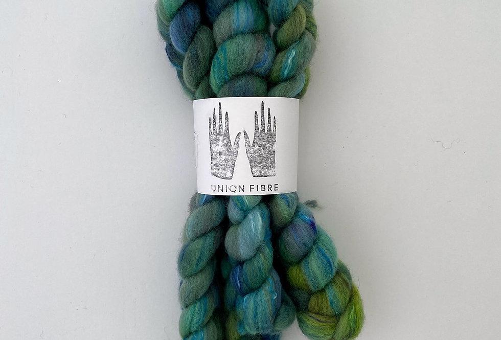 Corriedale Silk Fibre - 7