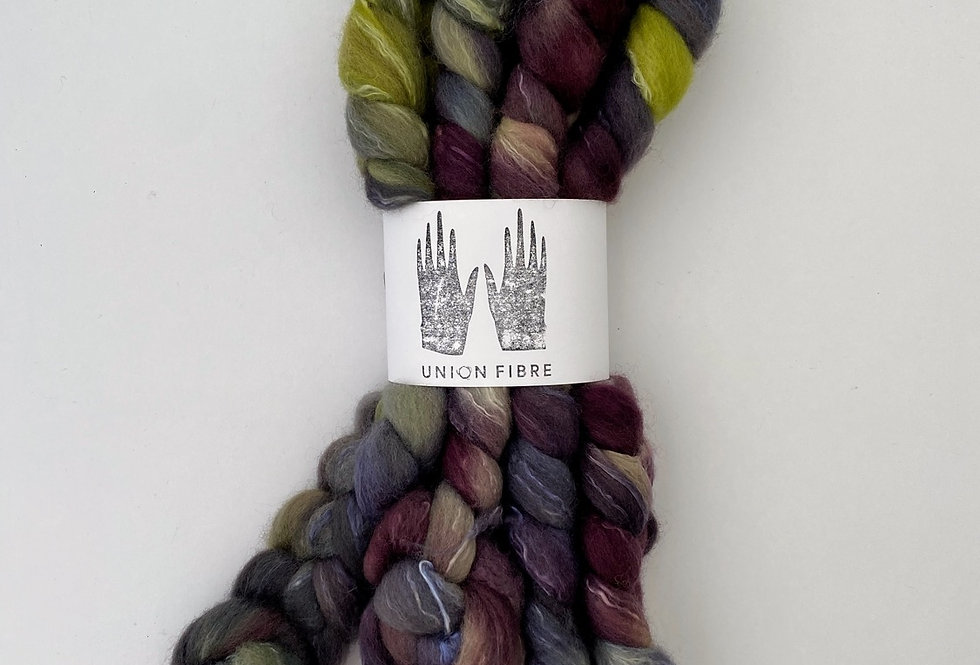 Corriedale Silk Fibre - 1
