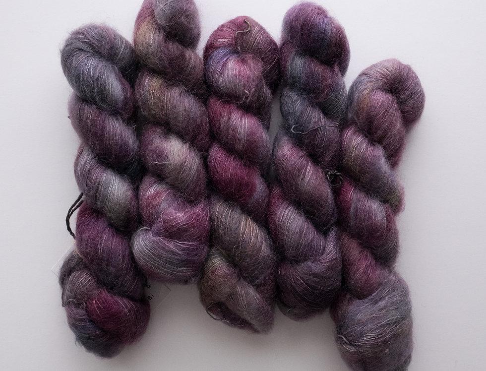 Flower of Life - Mohair Silk Fluff