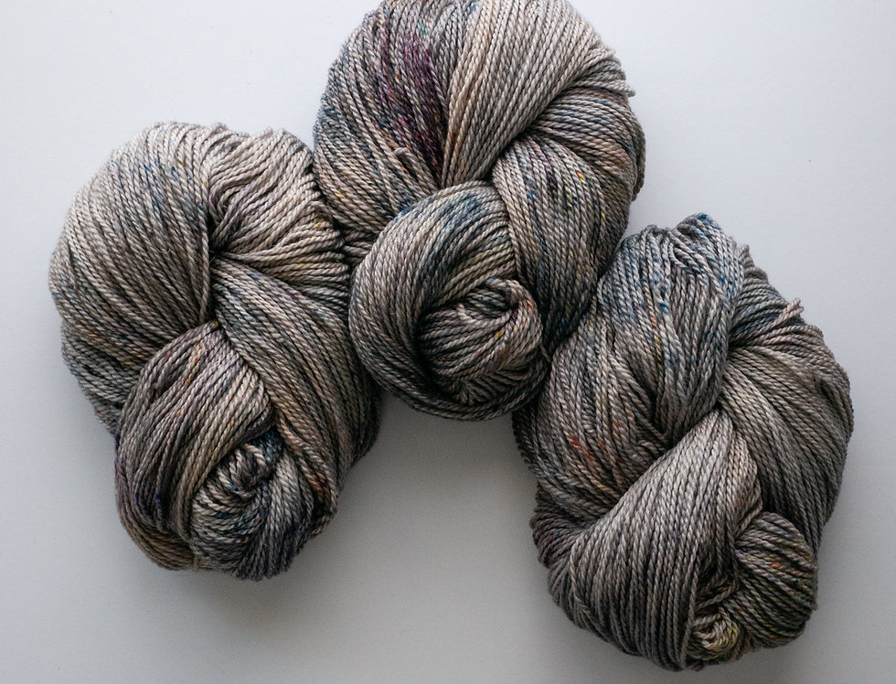 Semiprecious - Merino/Linen Worsted