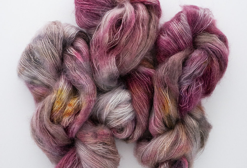 Bright Bloom - Mohair Silk Fluff