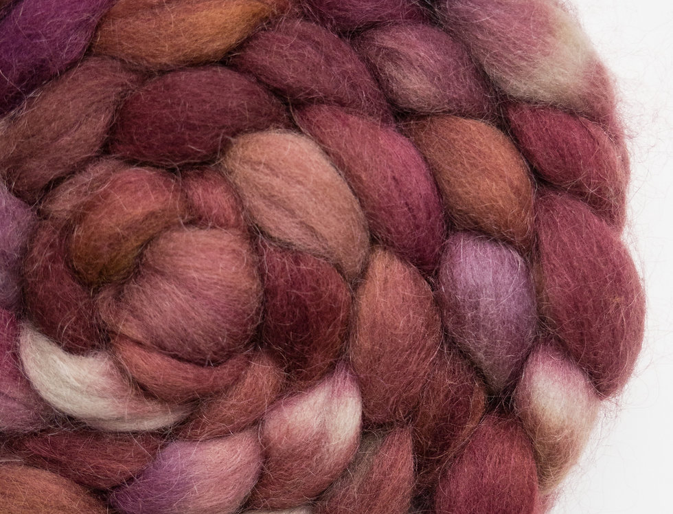 Hot Mess - Corriedale/Mohair Fibre