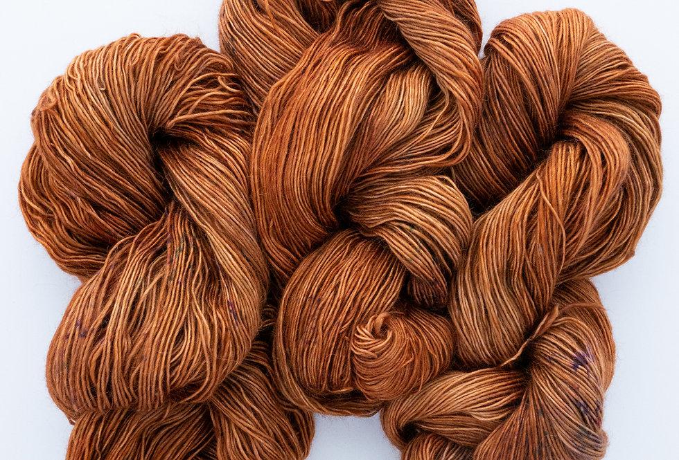 OOAK Soft Orange - Merino/Kid Mohair Singles