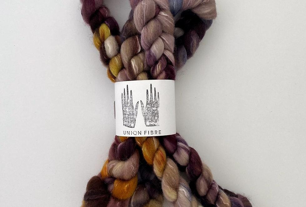 Corriedale Silk Fibre -3