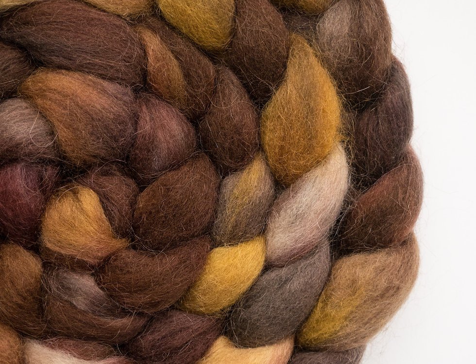 I Spilled My Coffee - Corriedale/Mohair Fibre