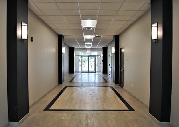 Commercial Hallway