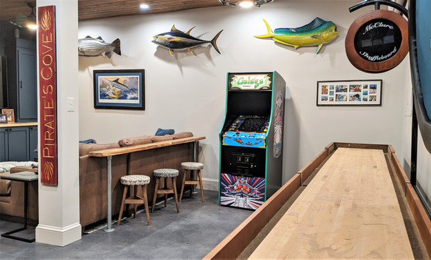 Man Cave Game Area