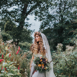bohemian bride, boho bride, enchanted wedding, forest wedding, boho wedding