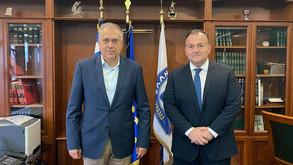 Σύσκεψη Ιωάννη Παππά με τον Υπουργό Προστασίας του Πολίτη.