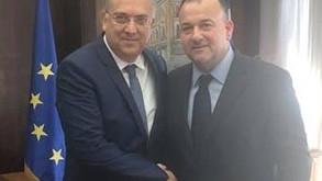 Συνάντηση του Βουλευτή Δωδεκανήσου Γιάννη Παππά με τον Υπουργό Εσωτερικών κ. Τάκη Θεοδωρικάκο
