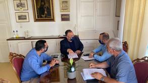 Συναντήσεις με φορείς του νησιού της Πάτμου πραγματοποίησε ο βουλευτής Δωδ/σου Ιωάννης Παππάς.