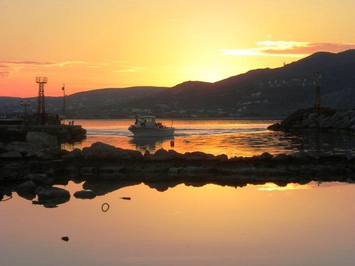 Sunset - fisherman