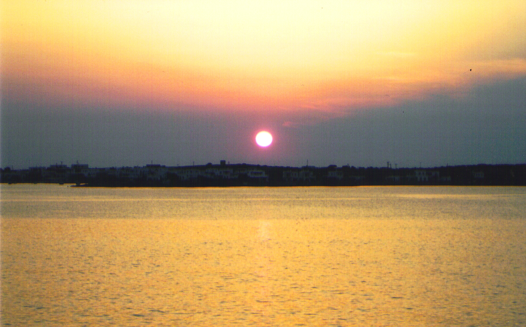 sunset over Antiparos
